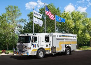 New Hanover County Fire Rescue's Engine 16